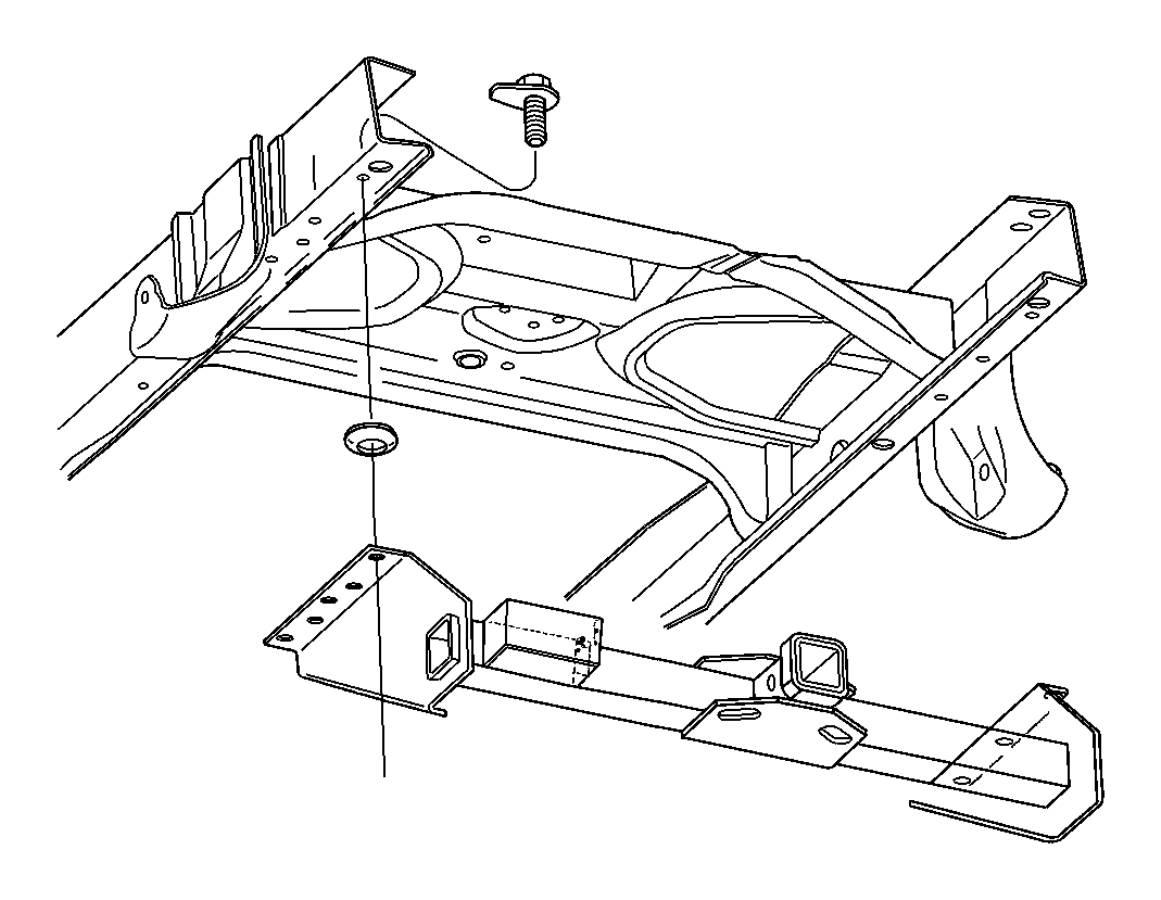 Dodge Ram Rec Kit Trailer Tow Wiring Rear Mopar
