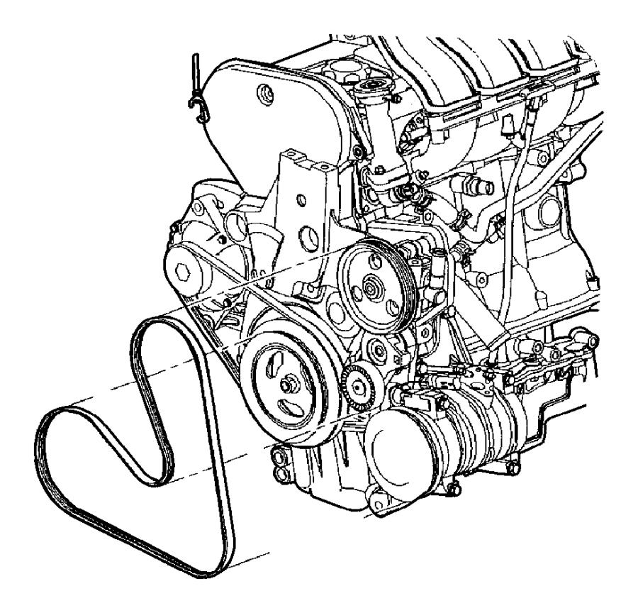 Diagram Dodge Caravan 1999 Belt