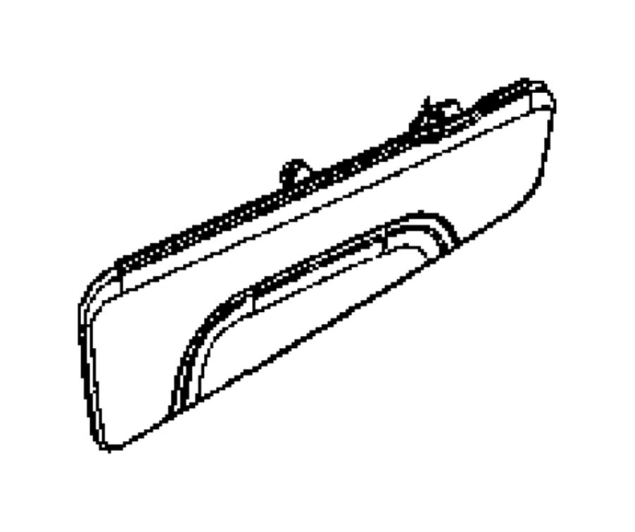Dodge Grand Caravan Shield Shield Side Fold Flat