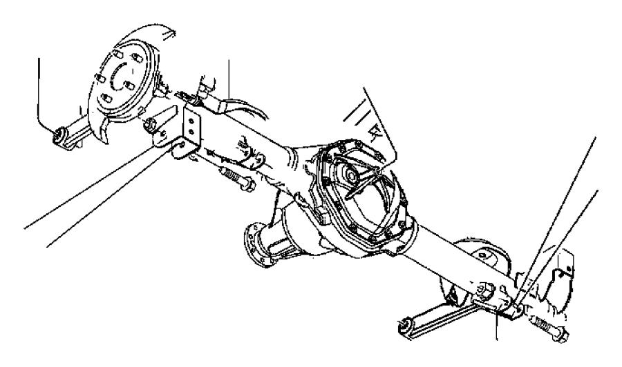 Dodge Durango Arm Upper Control Rear Suspension