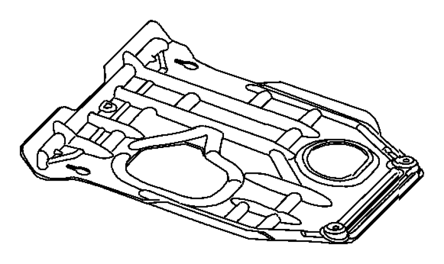 Dodge Charger Cover Used For Underbody And Front