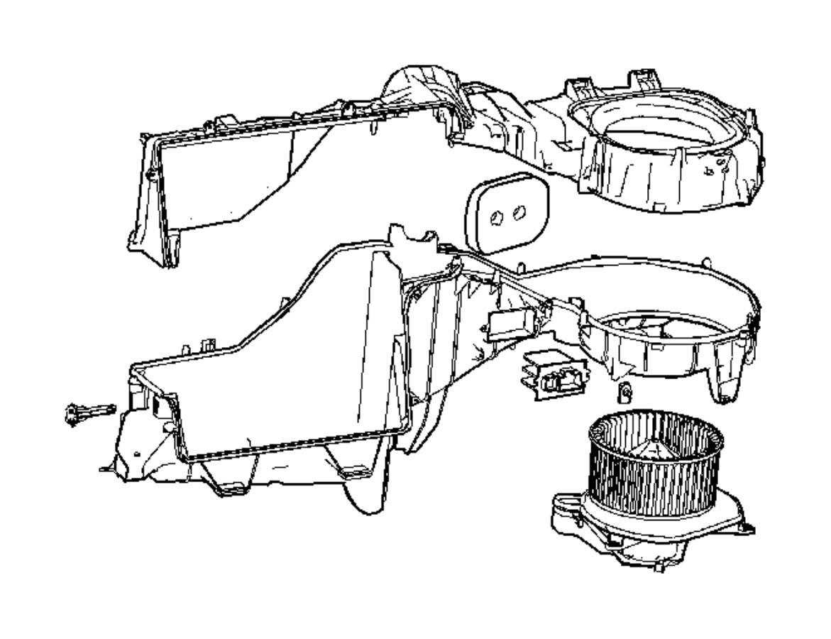 Jeep Commander Resistor Blower Motor Air