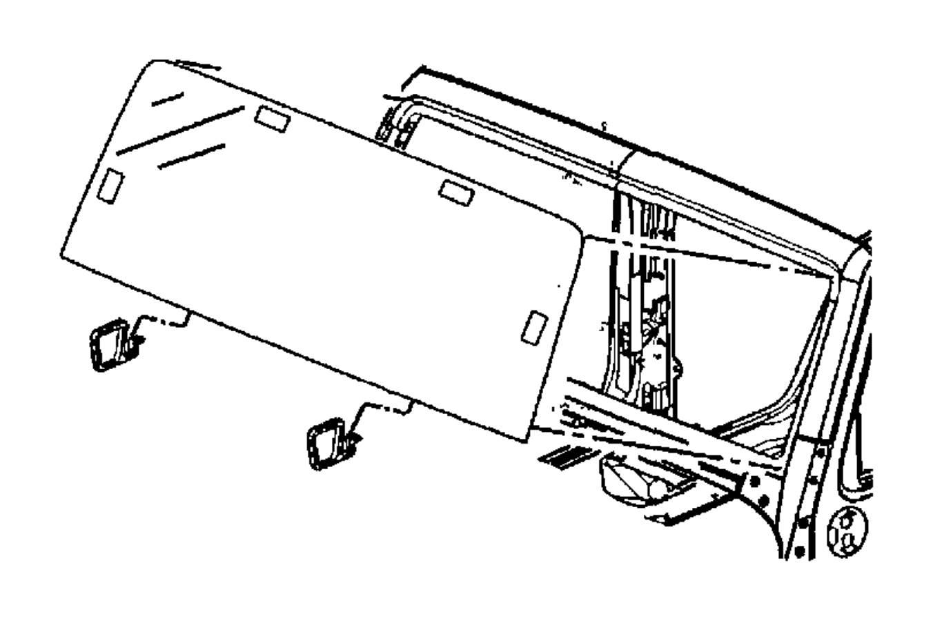 Jeep Wrangler Panel Windshield Frame Complete Body