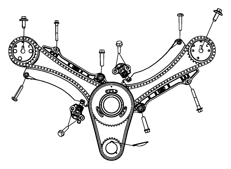 Dodge Nitro Sprocket Camshaft Right Timing Ekg Engine