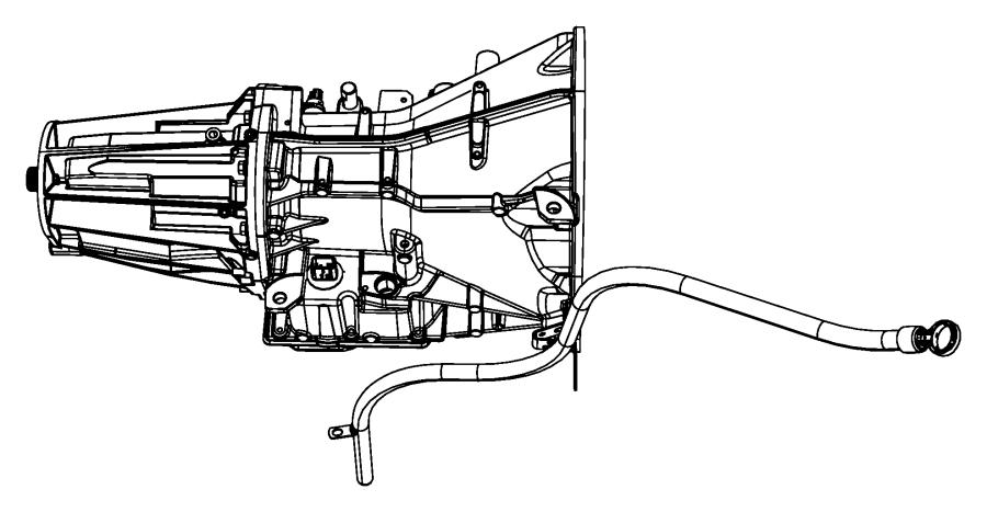 Jeep Wrangler Indicator Transmission Fluid Level