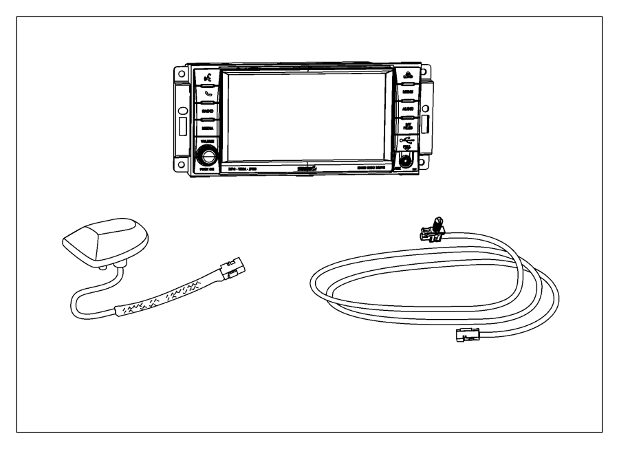 Dodge Ram Antenna Module Satellite Satelite