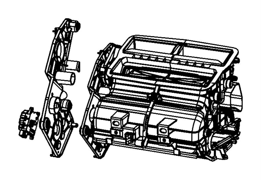 Dodge Nitro Housing Distribution Air Conditioning