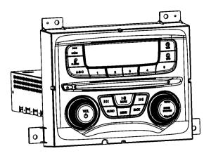 2014 Dodge Dart Radio Multi media Mopar  04692355AJ