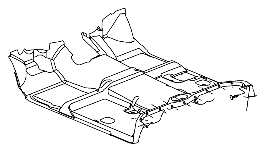 Ram Mat Kit Used For Front And Rear Carpet