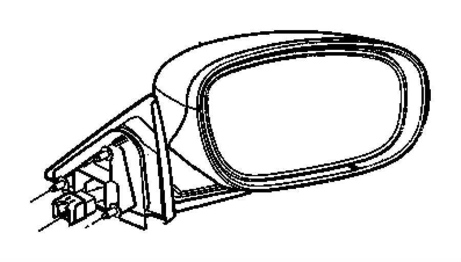 Chrysler Sebring Glass Mirror Replacement Left Gtrpower
