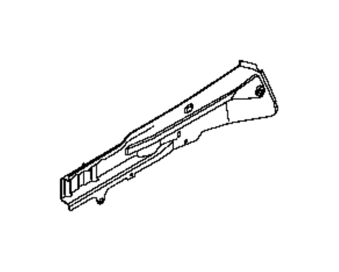 Ram Promaster City Wagon Rail Frame Side Right
