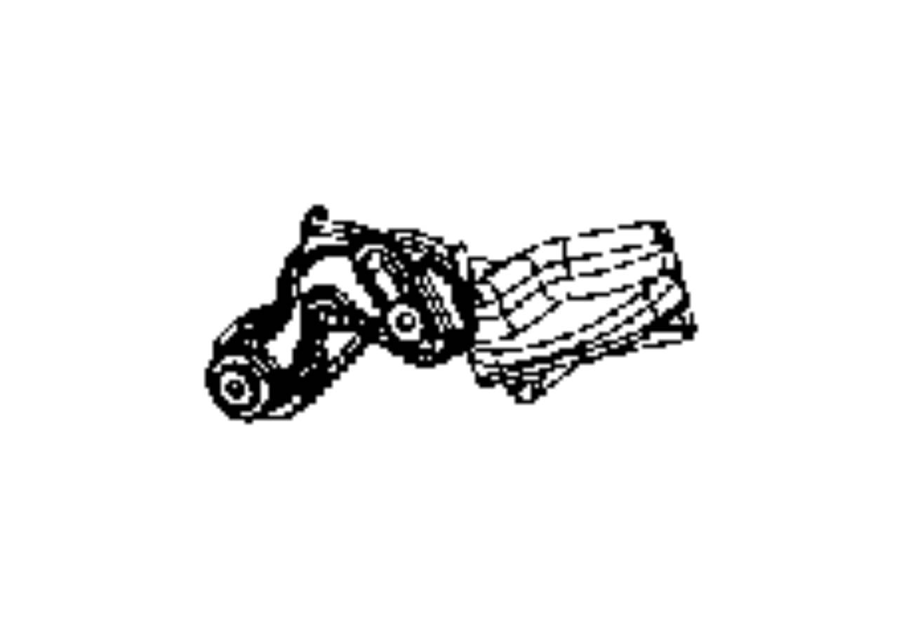 Dodge Ram Lever Tilt Column Release Trim No