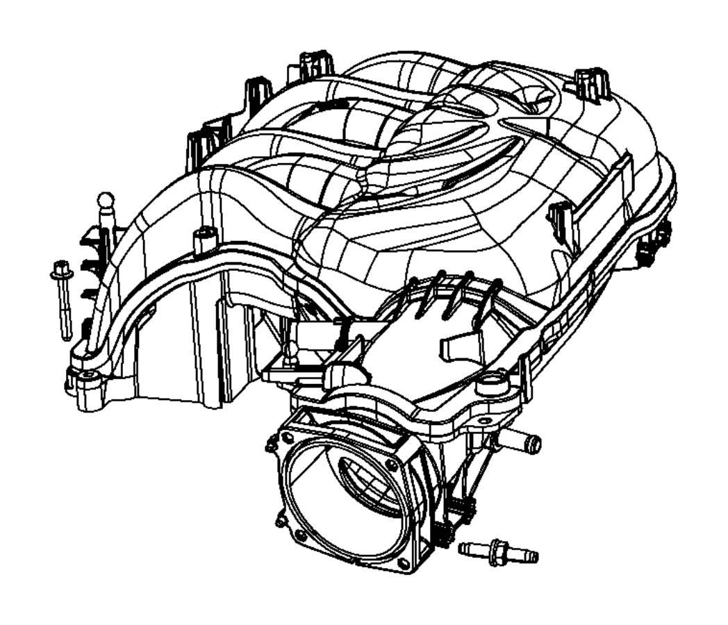Ram Plenum Intake Manifold Engine Vvt