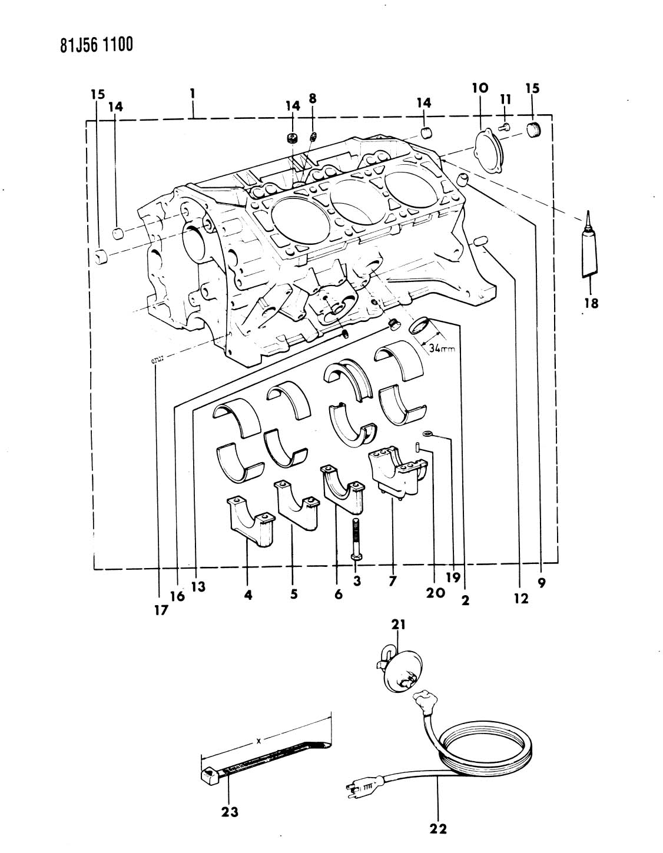 Chrysler 200 Manifold Plug Lower Cylinder Block
