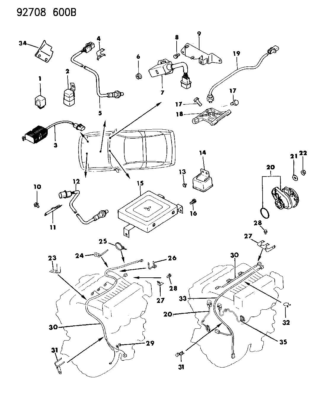 Dodge Relay Elec Control E8t Relay Elec
