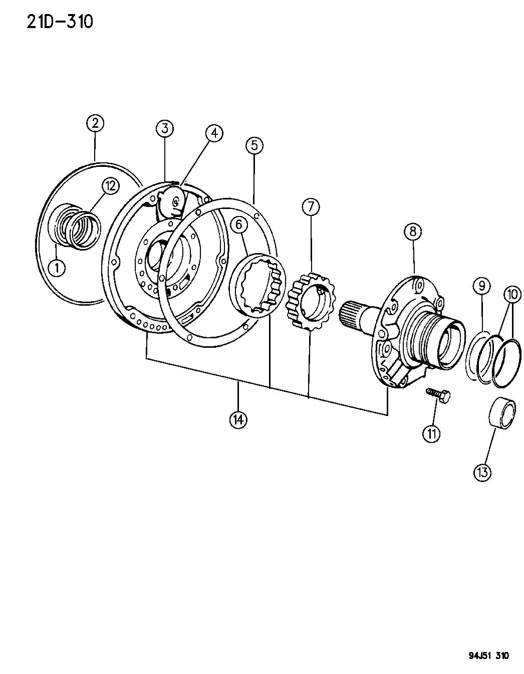 Pin 46rh Transmission Diagram