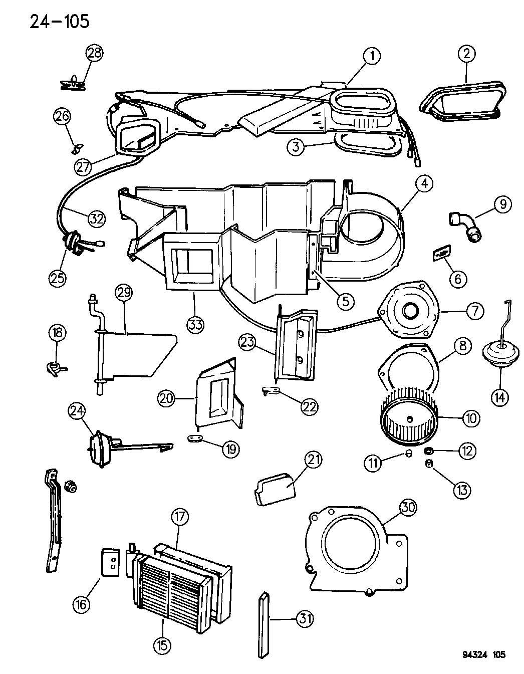 Dodge Dakota Quad Cab 4 7l V8 A T Motor Blower With