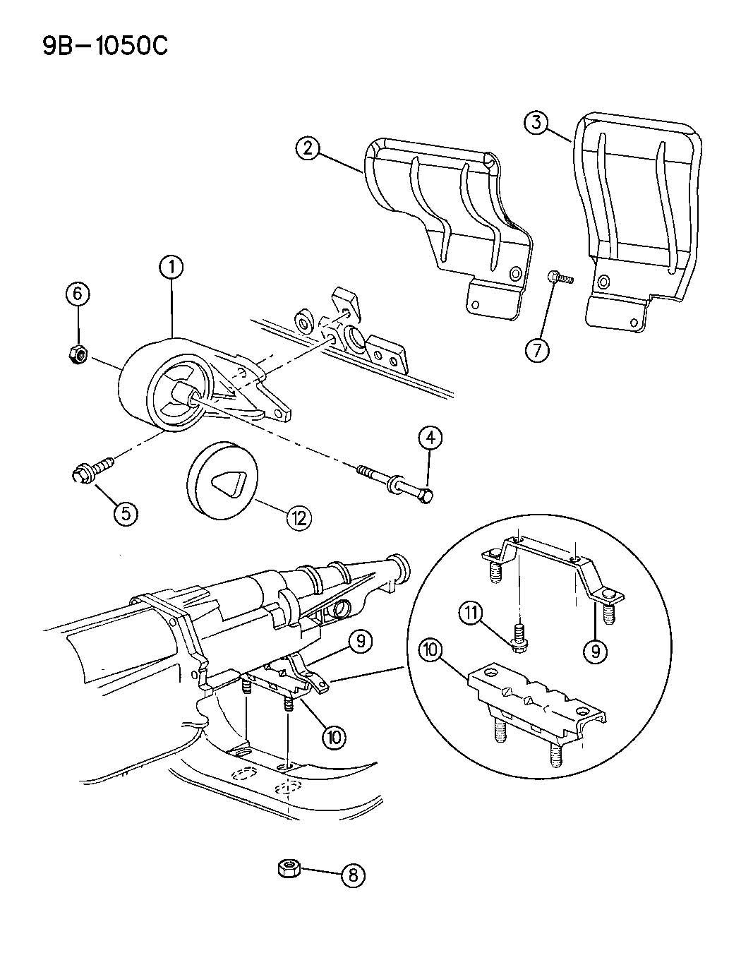 Dodge Ram Restrictor Engine Mount Etce