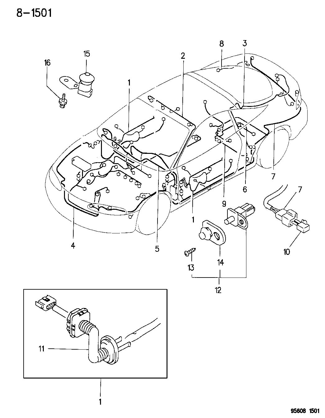 Chrysler Diode Body Wiring Protect