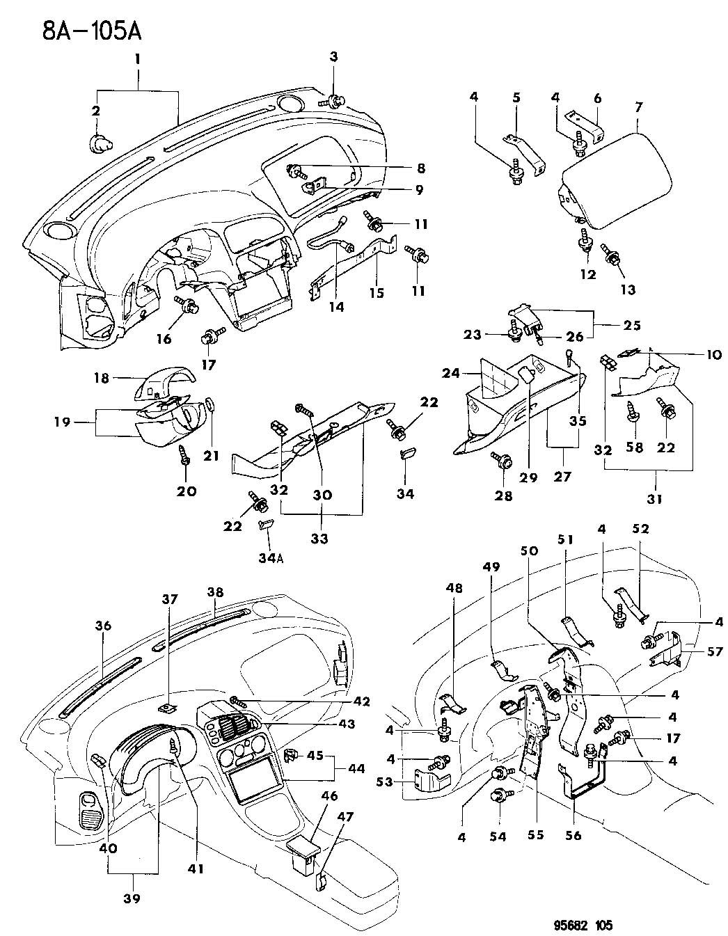 Chrysler Sebring Used For Screw And Washer Tapping