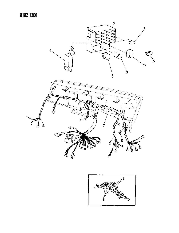 Instrument Panel Wiring J Body