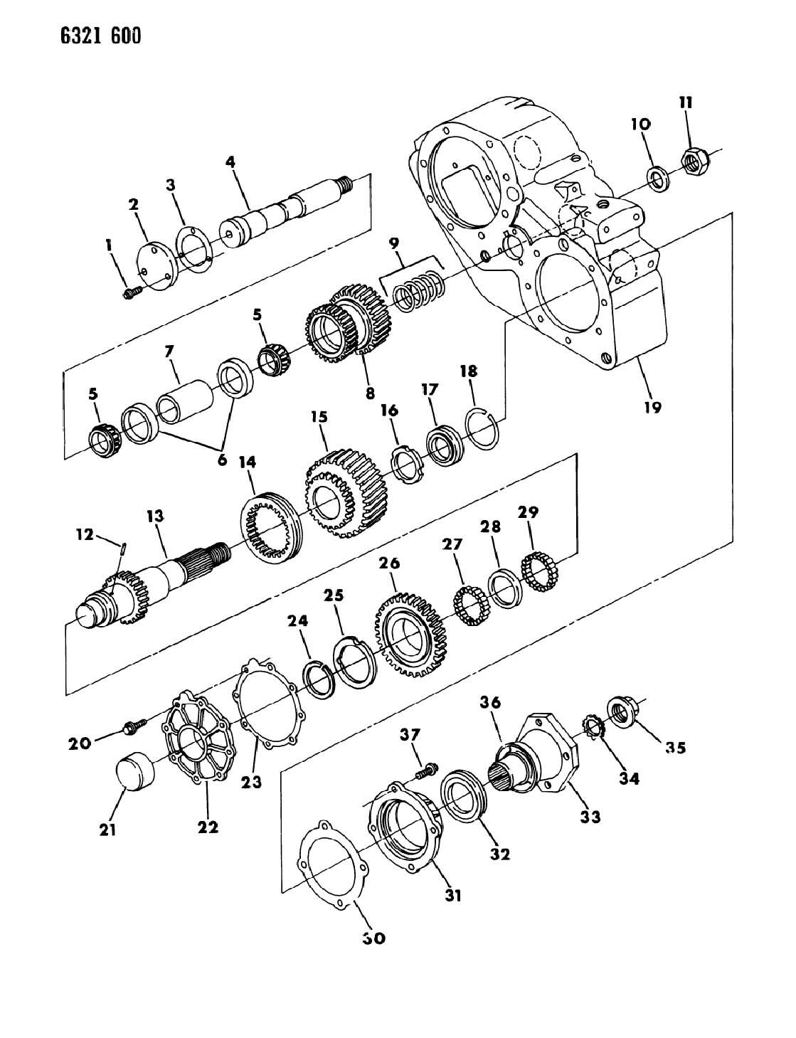 Dodge Ram Washer Transfer Case Yoke Spline Dhr
