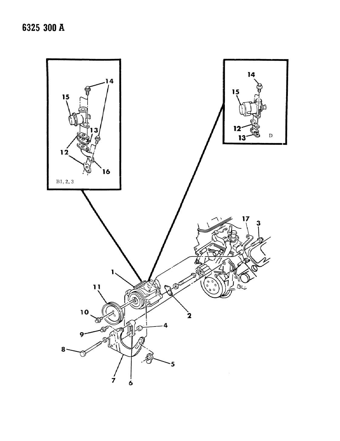 Dodge Air Pump 318