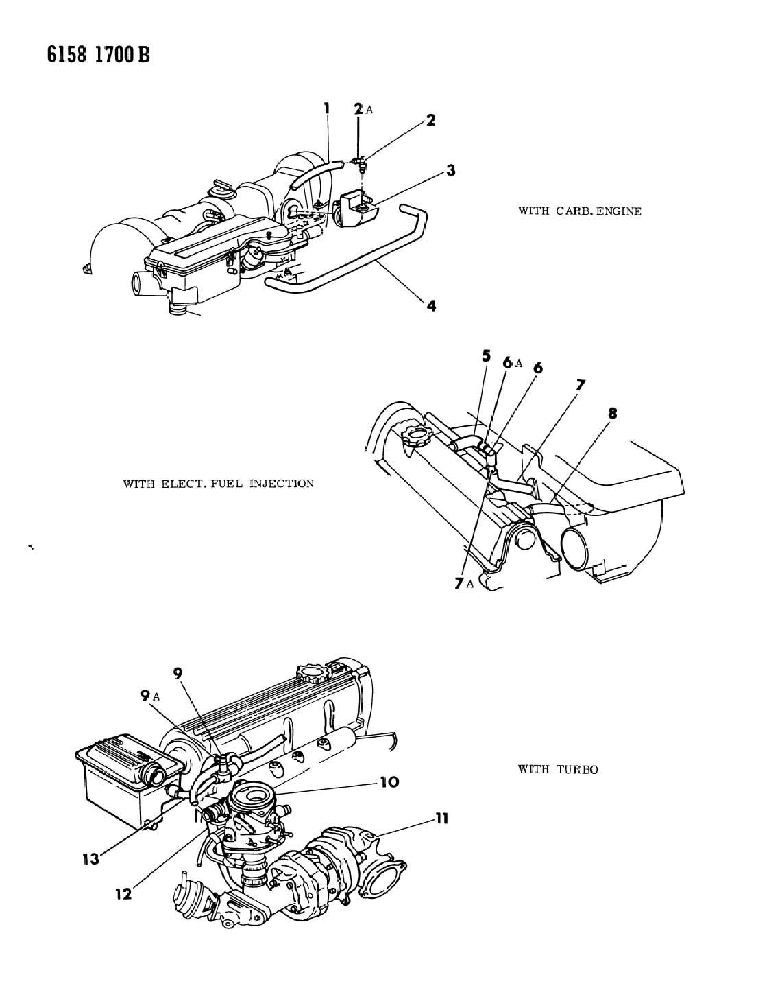 Dodge Hose Hose 1ft Fuel Amp Vapor Fuel Filler 1 4