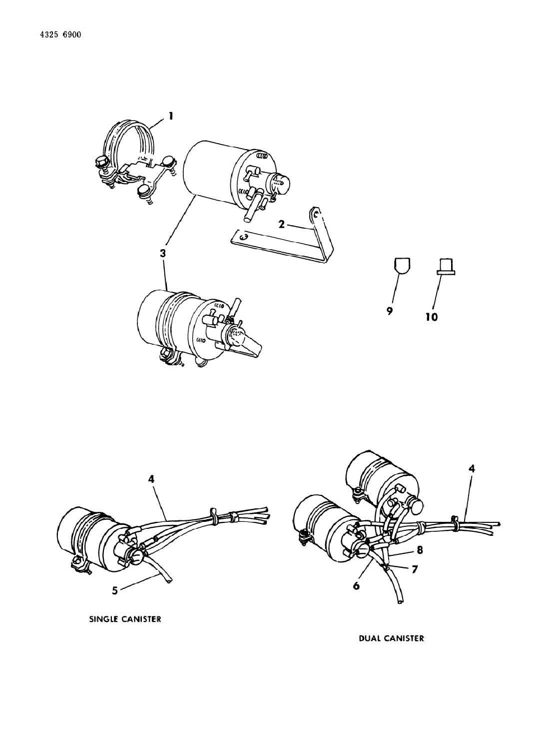 Dodge Ram Cap Vapor Canister Evap Nipple Niple