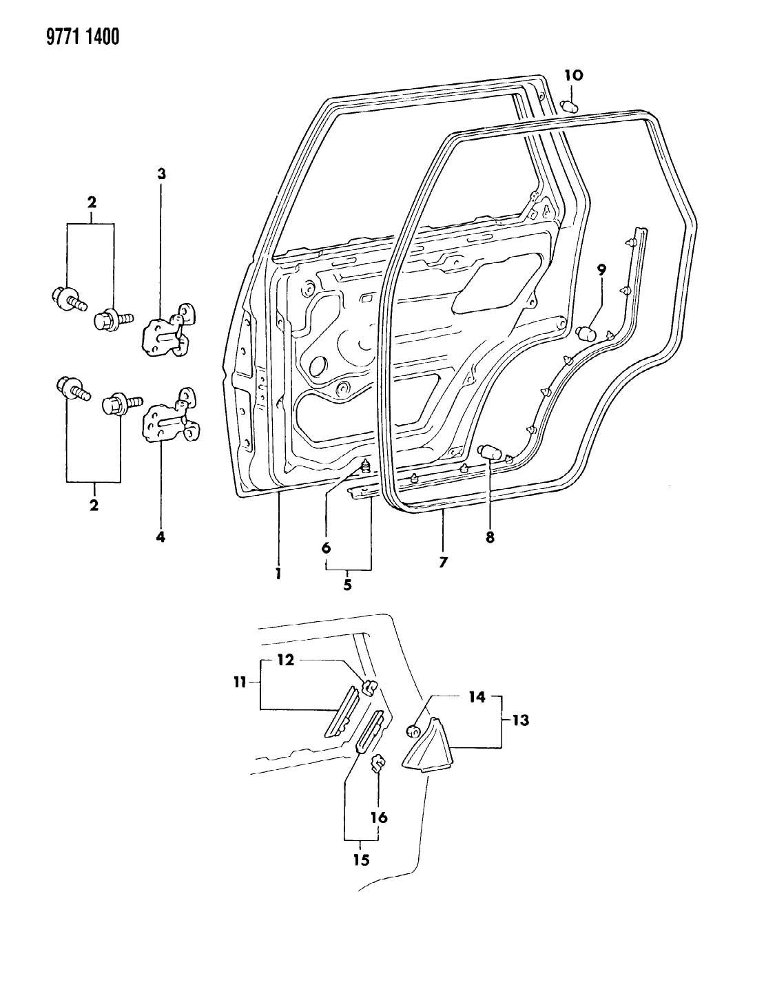 Chrysler Sebring Bumper Fuel Door Fillar