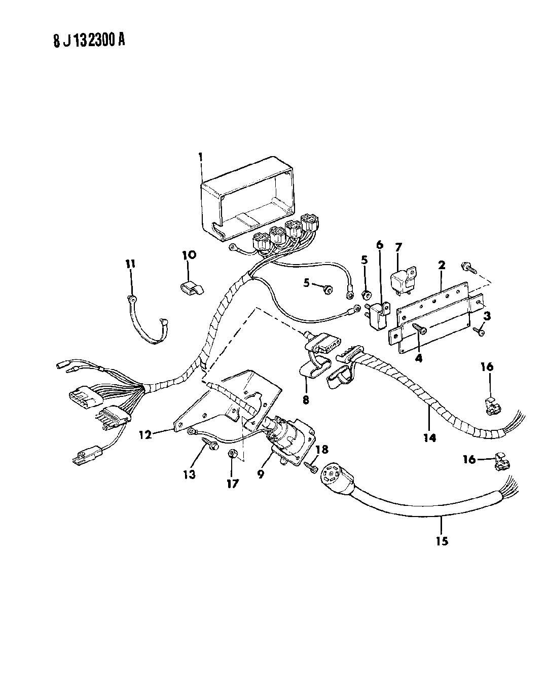Dodge Ram Harness Main