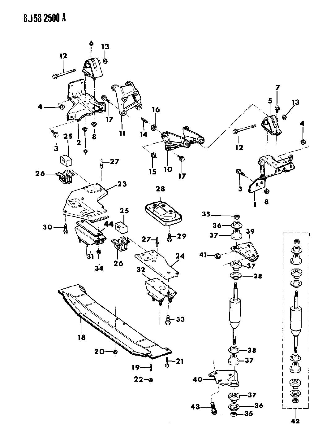 Dodge Ram Bolt Used For Screw And Washer Hex