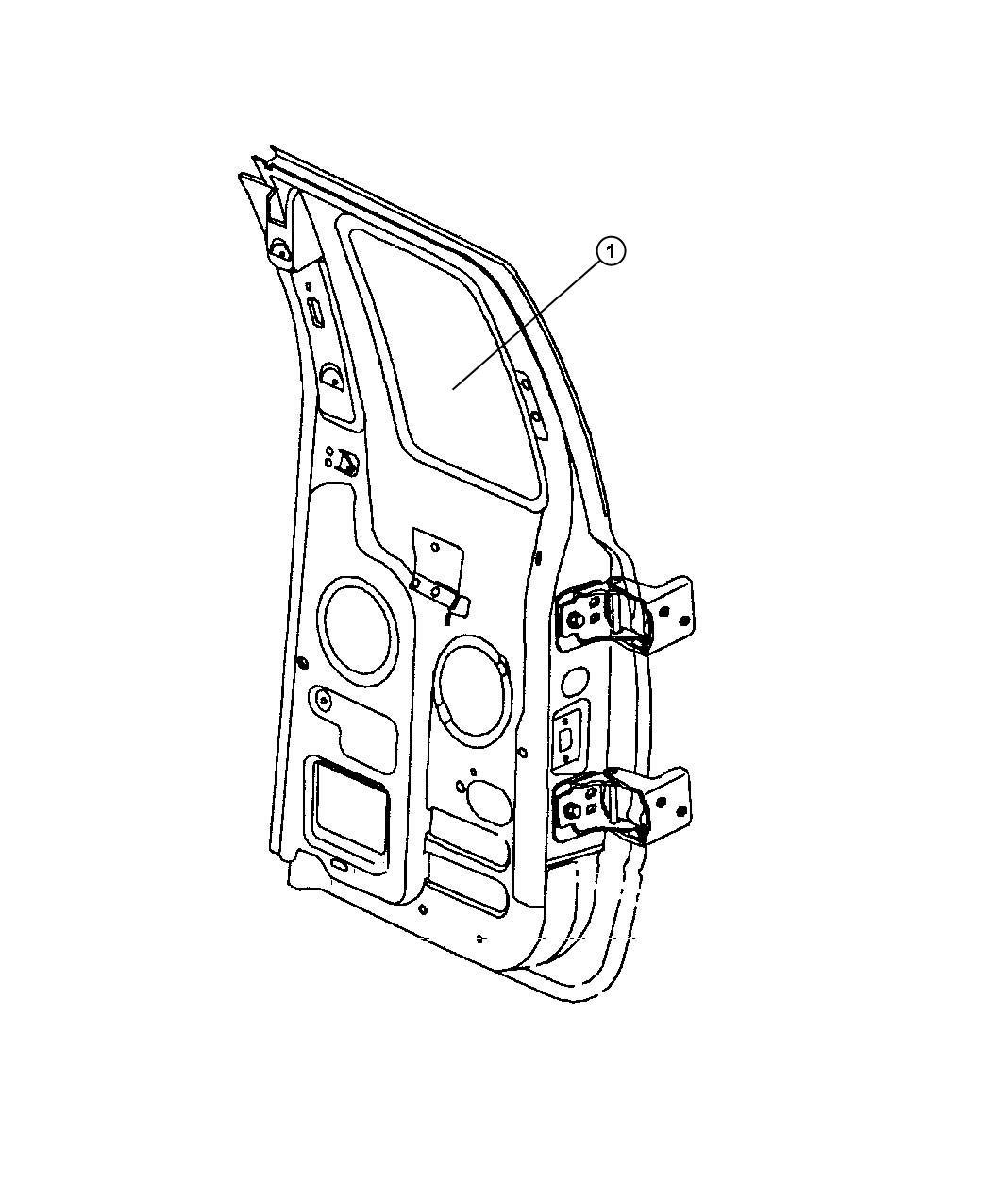 Dodge Ram Cable Door Cargo