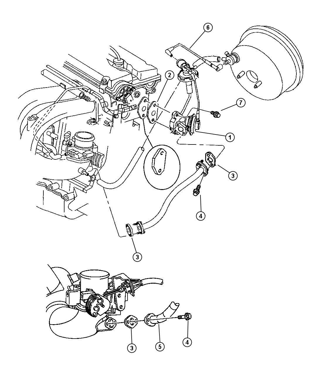 Stratus Egr System 2 4l Engine