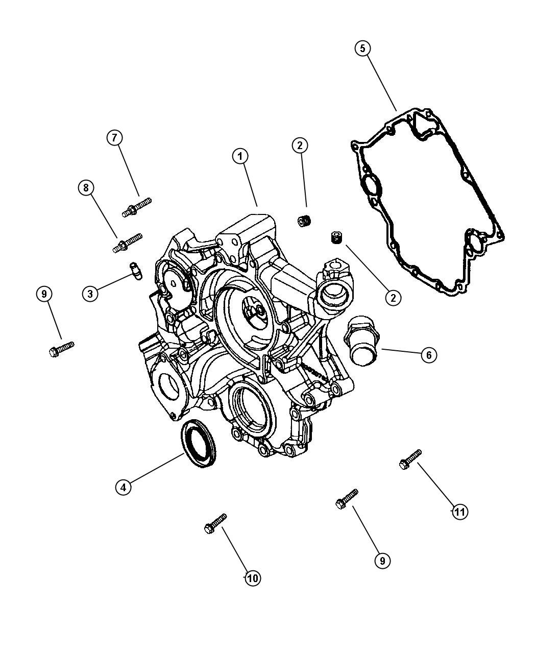 Grand Cherokee Timing Cover