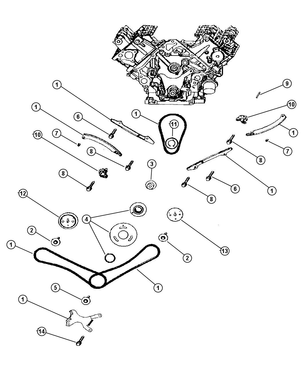 Dodge Durango Timing Chain And Guides