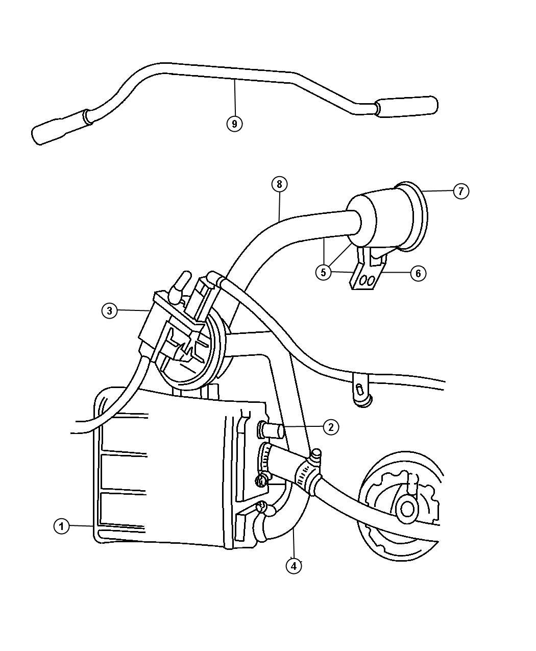 Auto Parts Chrysler Sebring Convertible