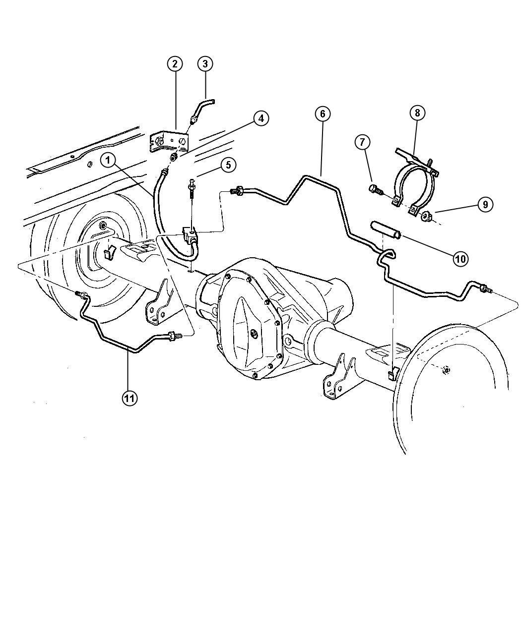 Dodge Ram Tube Brake