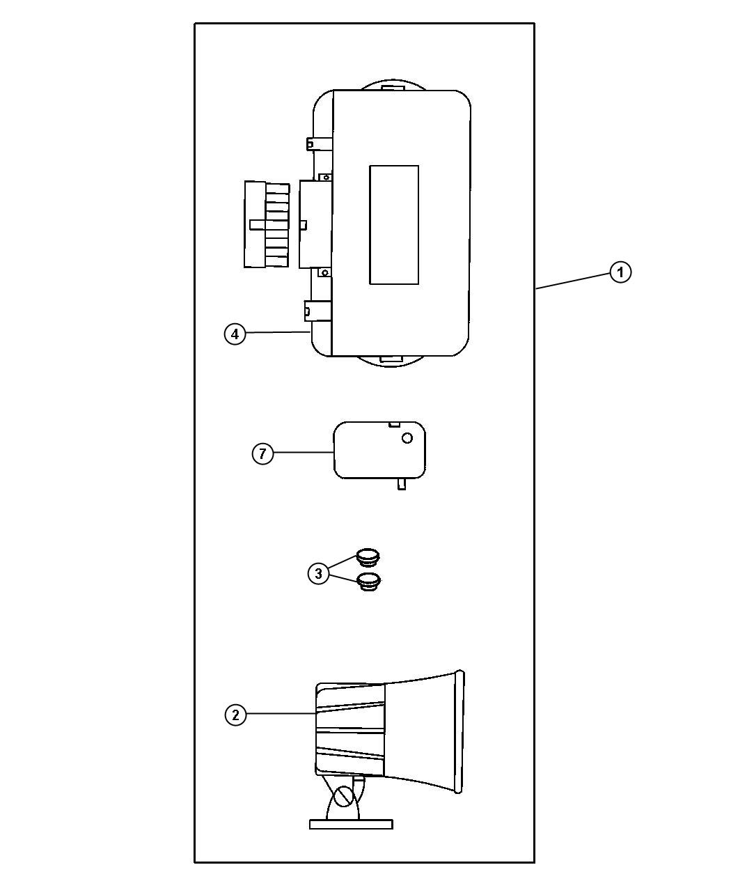 Chrysler Sebring Module Kit Alarm With Keyless Add To