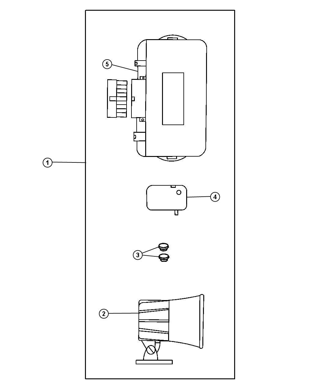 Chrysler Voyager Module Security Alarm