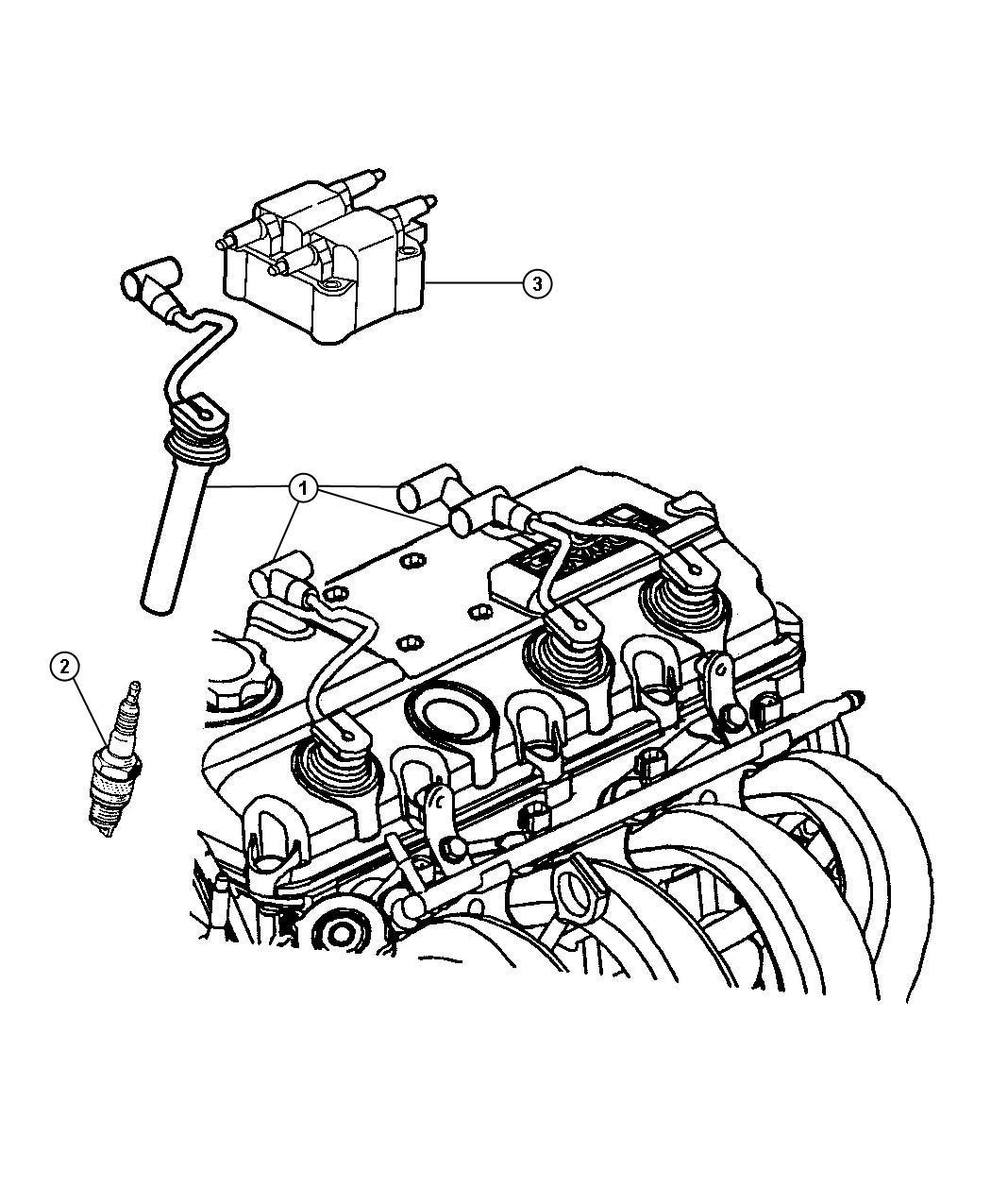Jeep Liberty Spark Plug Re 14mc C5 Up To 11 27 03