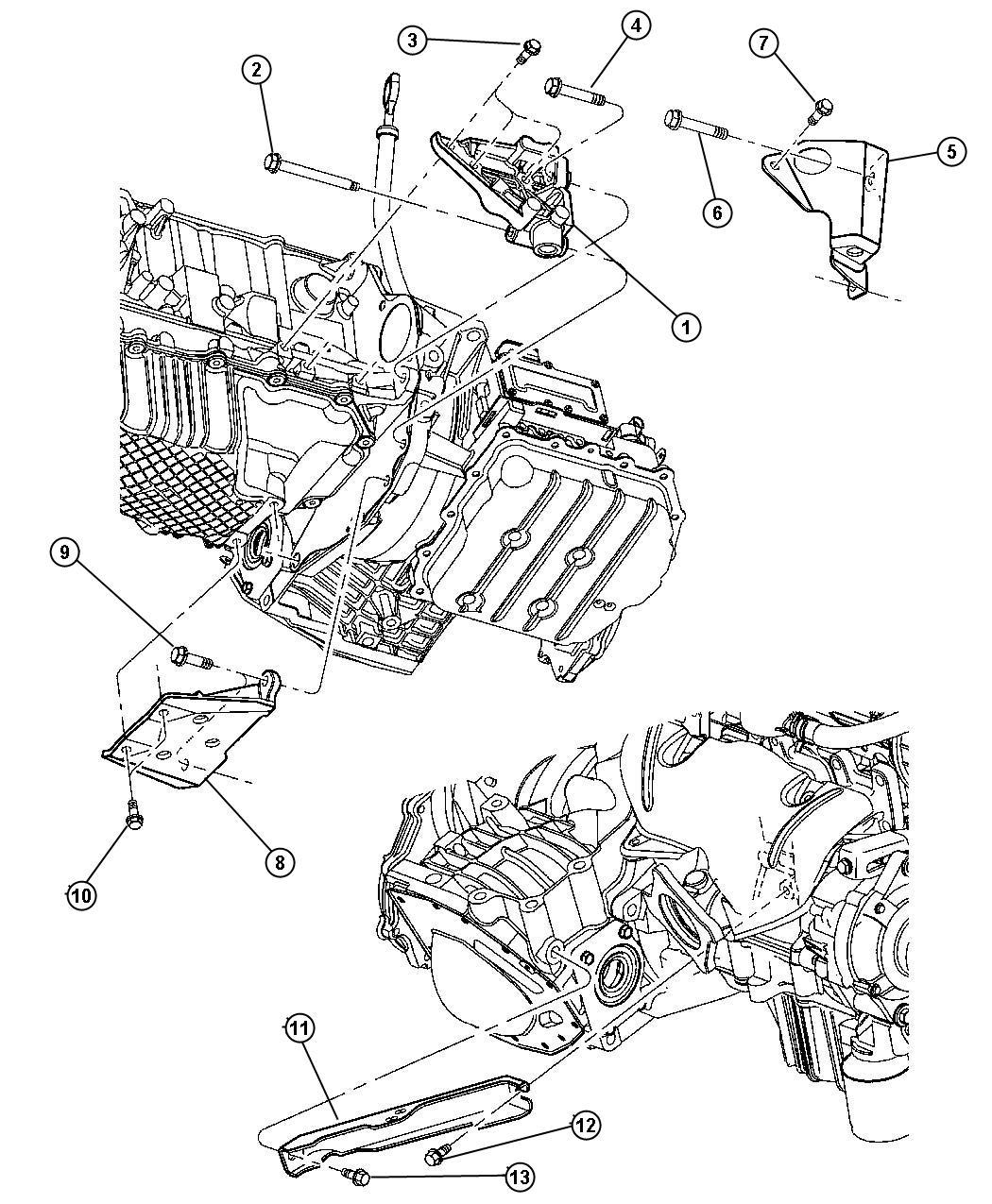 Dodge Neon Strut Engine Engine Roll Automatic