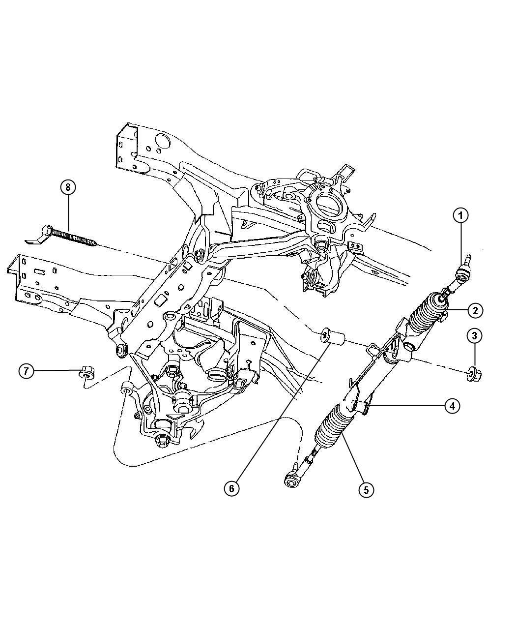 Dodge Dakota Tie Rod Kit Outer End Magneti Marelli Left
