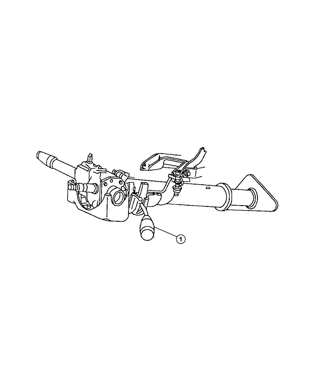 Dodge Ram Lever Gearshift Intermittentsteering