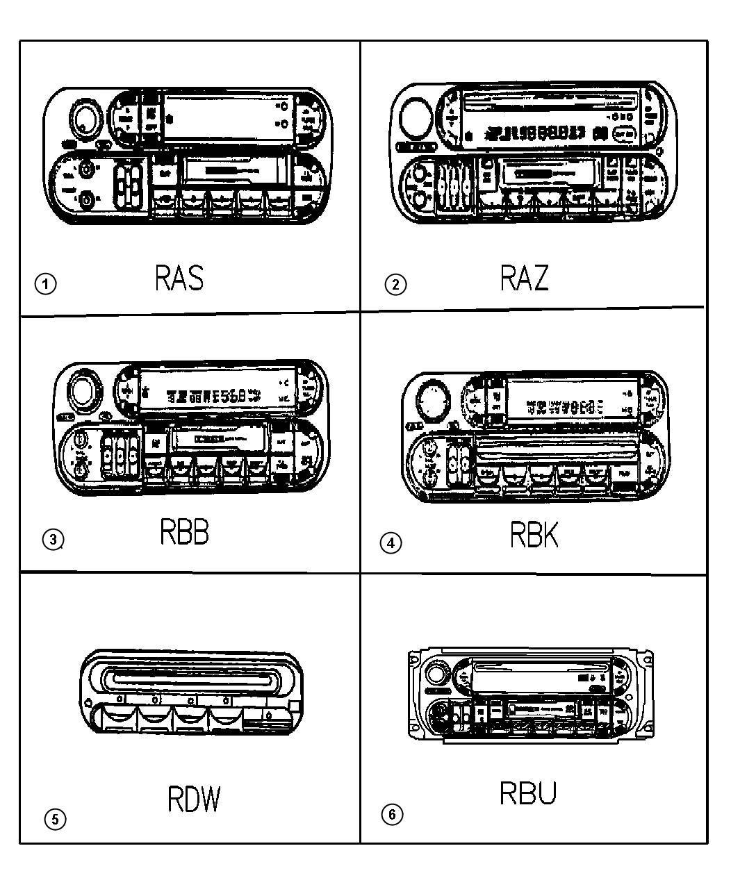 Chrysler Voyager Wiring Kit Audio System Adapter