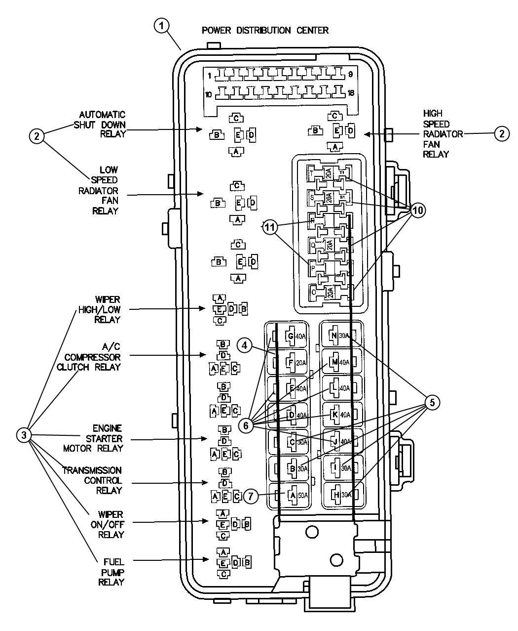 Dodge Intrepid Starter Wiring Diagram