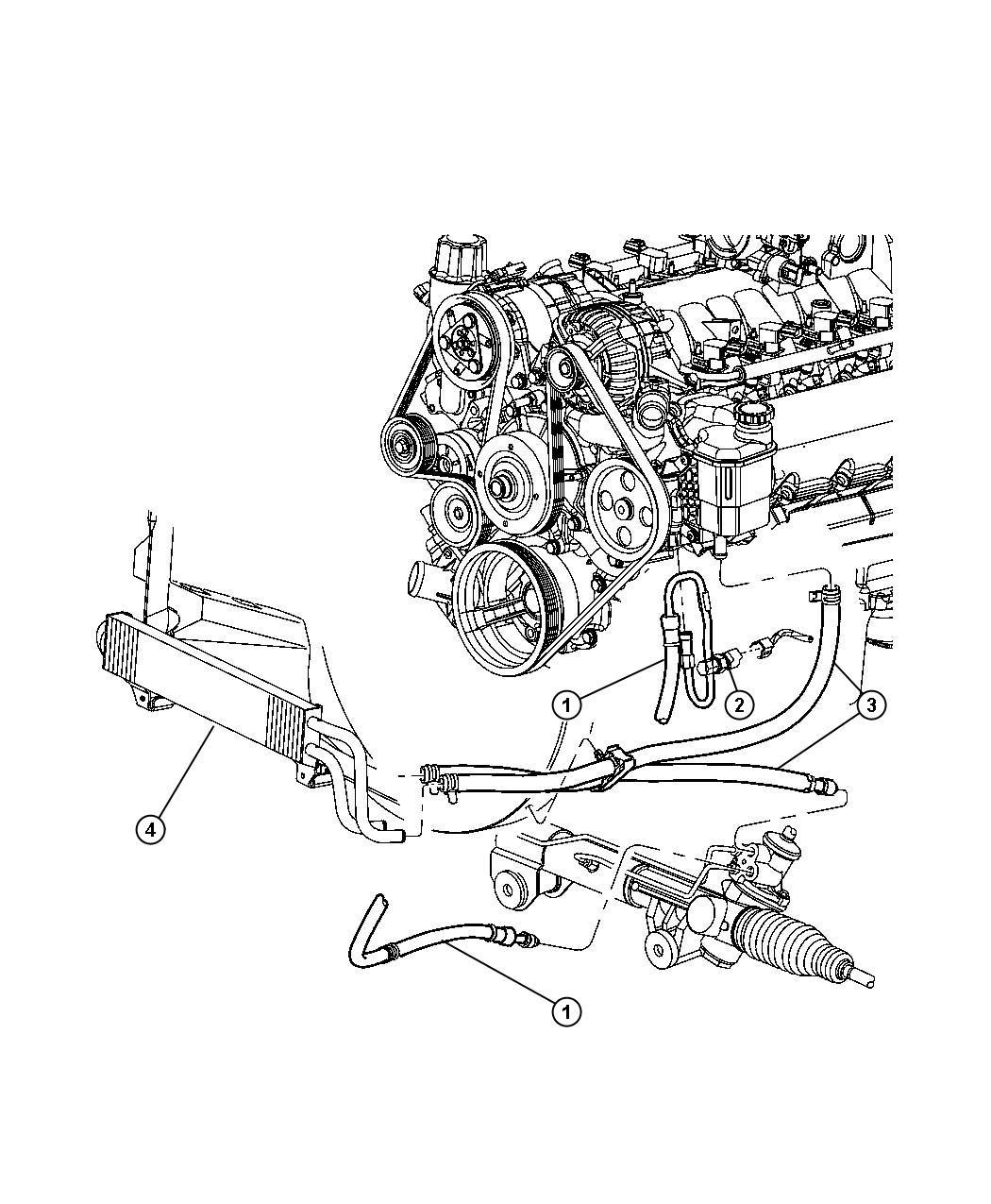 Dodge Dakota Switch Power Steering Power Steering