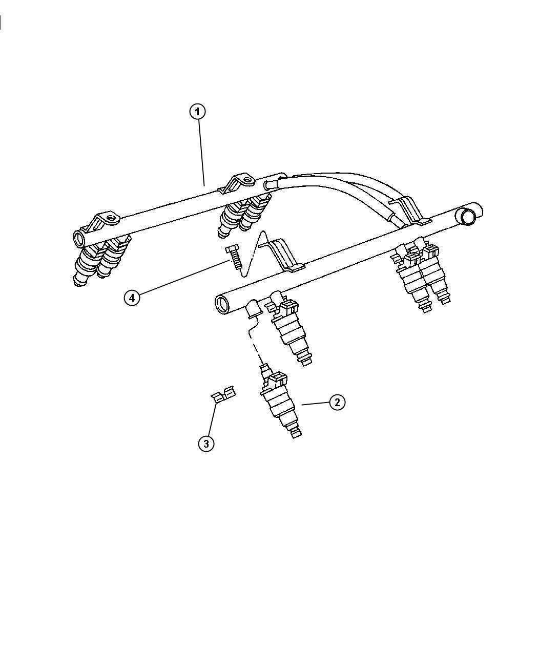 Dodge Durango O Ring Kit Fuel Injector