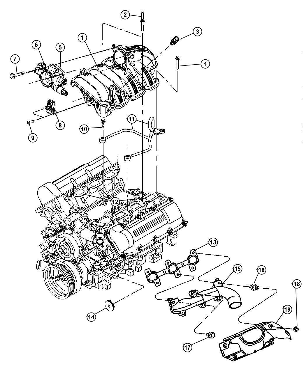 Dodge Dakota Stud M6x1 0x43 0 Mpiengine