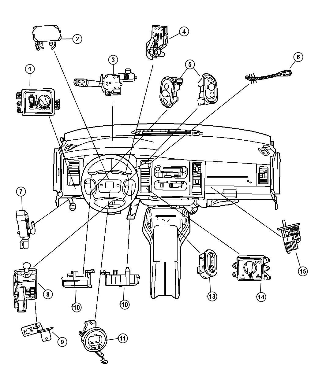 Dodge Switch Ignition Intermittentsteering